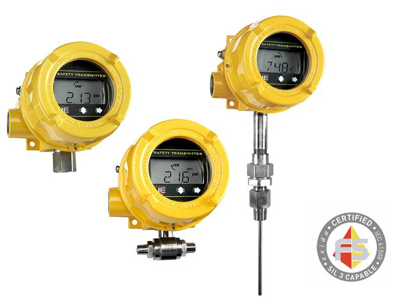 certified safety transmitters